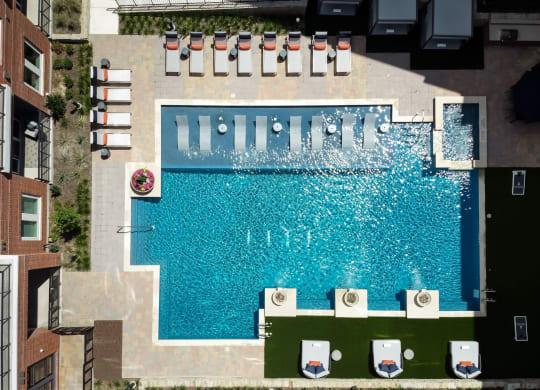 Resort Inspired Pool with Cabanas at Berkshire Pullman, Texas